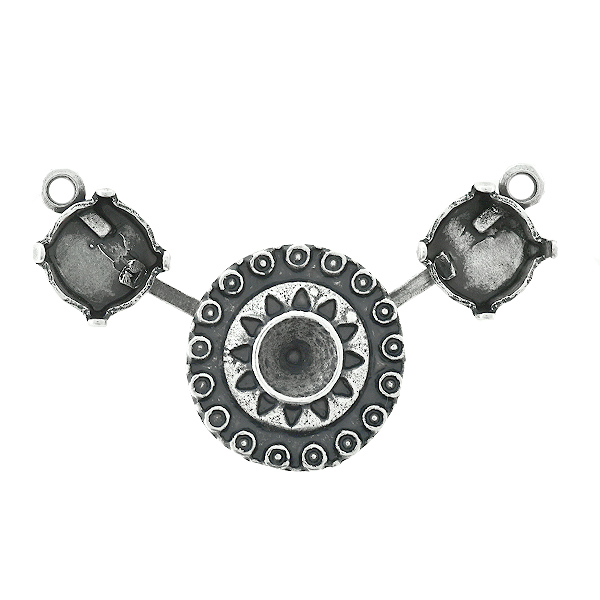 39ss cup chain and 24ss Metal element Centerpiece for Necklace base