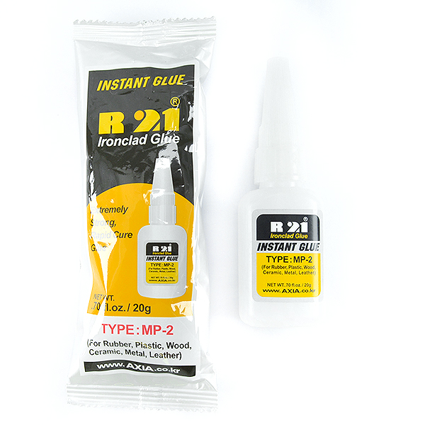 Ironclad glue R21 - Instant glue for jewelry making