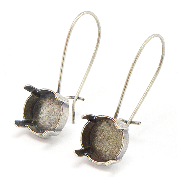 10mm Rivoli Hanging Earring base