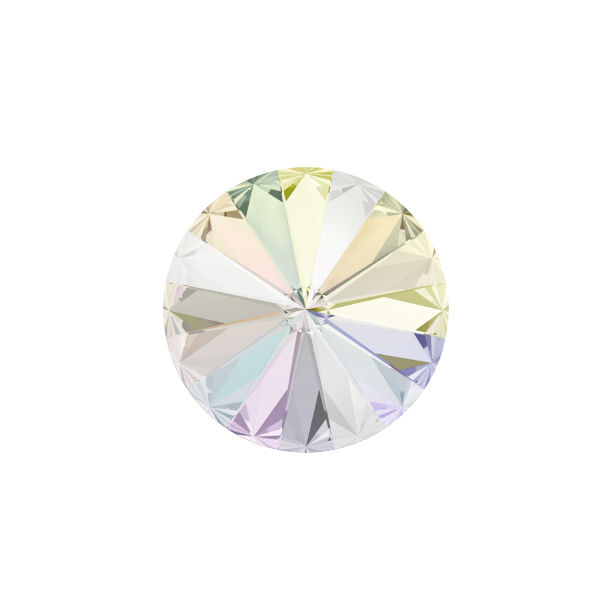 10mm Rivoli 1122 Swarovski Crystal AB color - 5 pcs pack