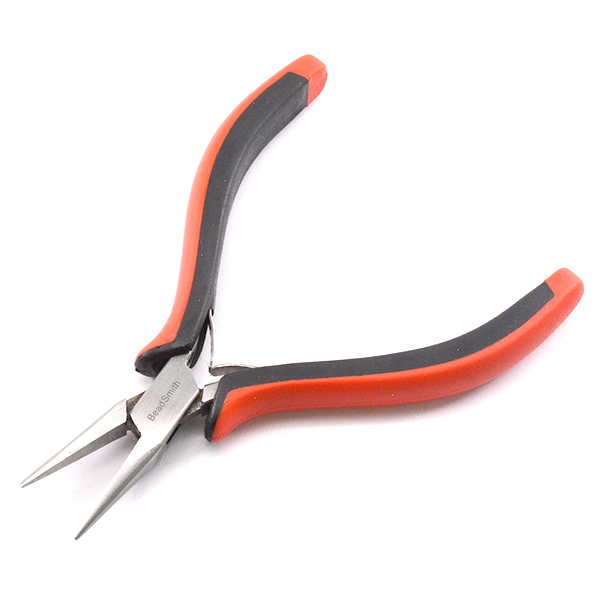 Chain nose pliers for jewelry making