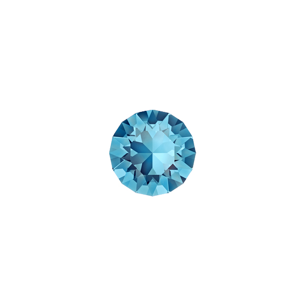 29ss Chaton 1088 Swarovski Aquamarine color - 10 pcs pack