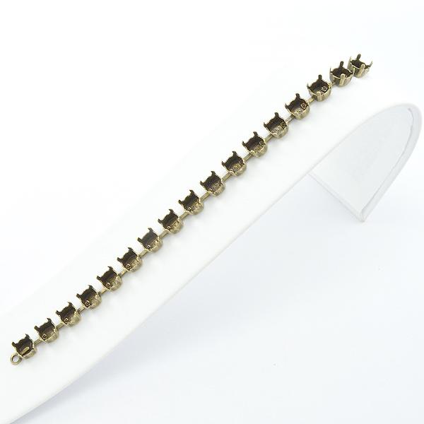Empty Cup Chain Bracelet Setting 12mm