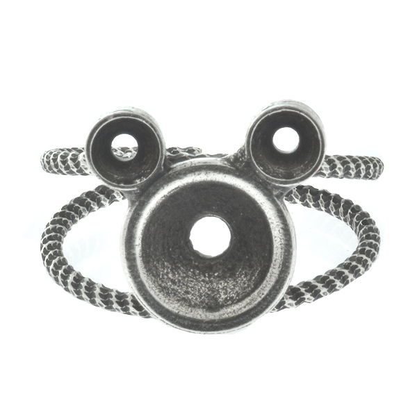 32pp and 39ss Metal Casting Mouse on double band ring base