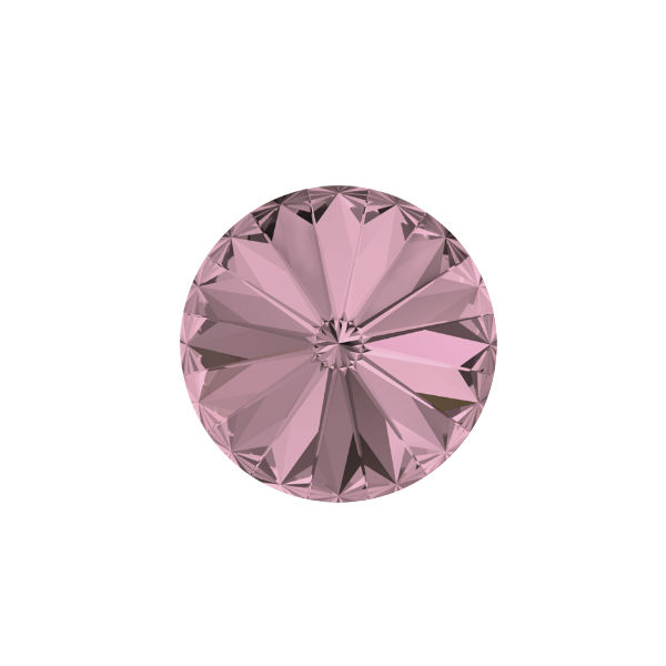 10mm Rivoli 1122 Swarovski Antique Pink color - 5 pcs pack