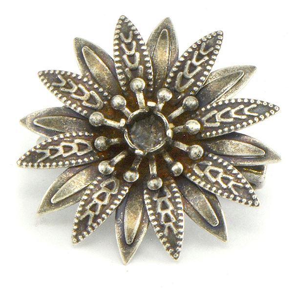 24ss Flower Brooch base