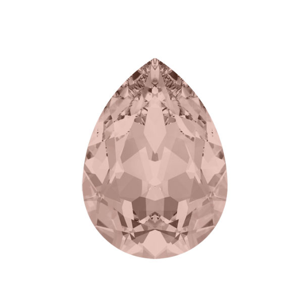 14x10mm Pear shape 4320 Swarovski Vintage Rose color