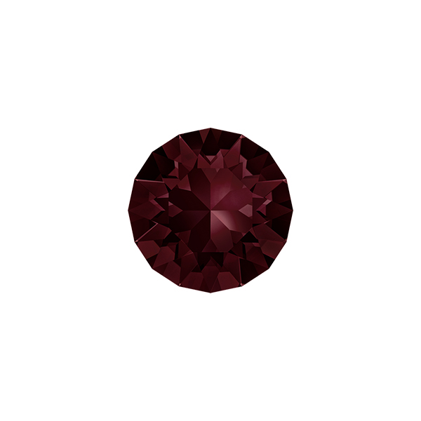 39ss Chaton 1088 Swarovski Burgundy color - 10 pcs pack