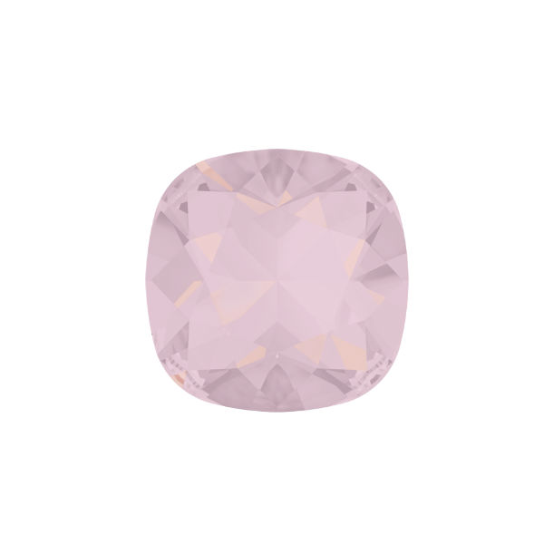 10x10mm Square 4470 Swarovski Rose Water Opal color - 2 pcs pack