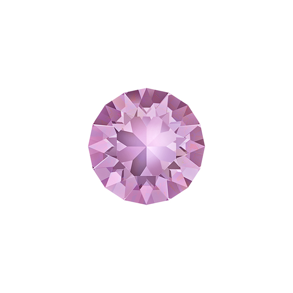 39ss Chaton 1088 Swarovski Light Amethyst color - 10 pcs pack