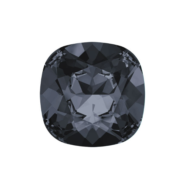 12x12mm Square 4470 Swarovski Silver Night color