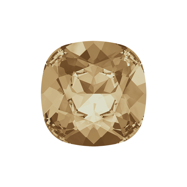 12x12mm Square 4470 Swarovski Golden Shadow color