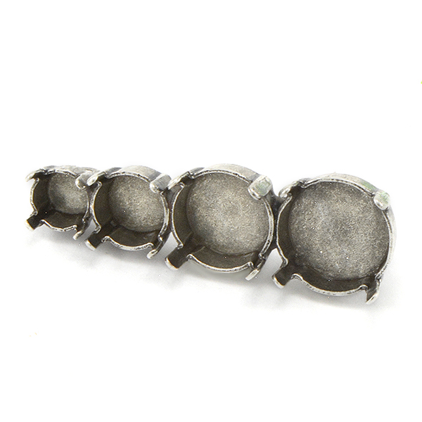 29ss, 39ss, 10mm Rivoli, 12mm Rivoli Jewelry Brooch